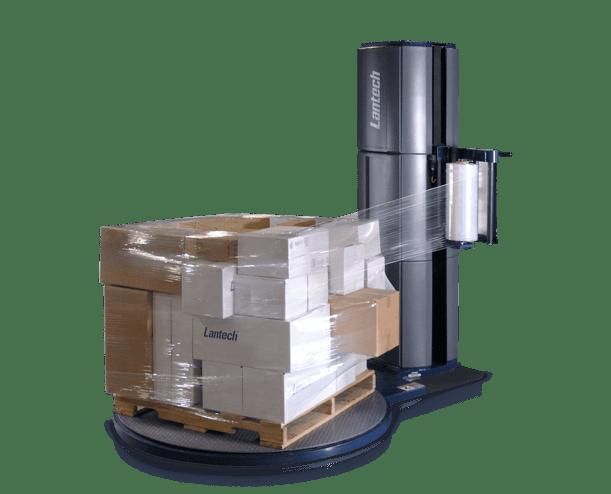 Lantech Q-250 Semi-Automatic Turntable Stretch Wrapper