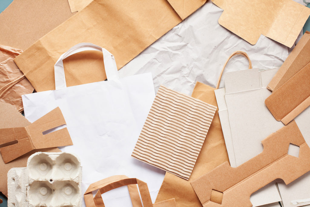 variety of paper packing
