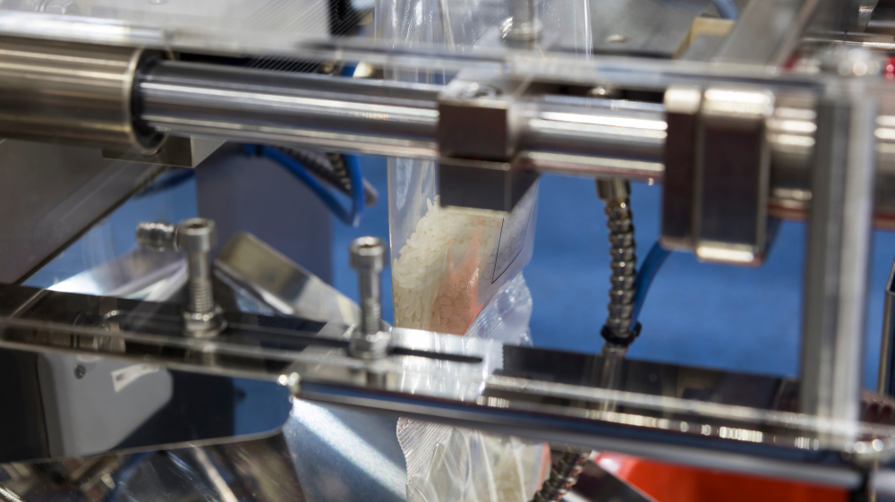 Automatic bag packaging systems save time.